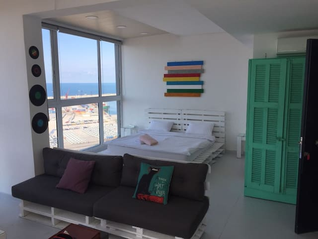 Panoramic Rooftop Loft with Terrace - Mar Mikhael - Loft