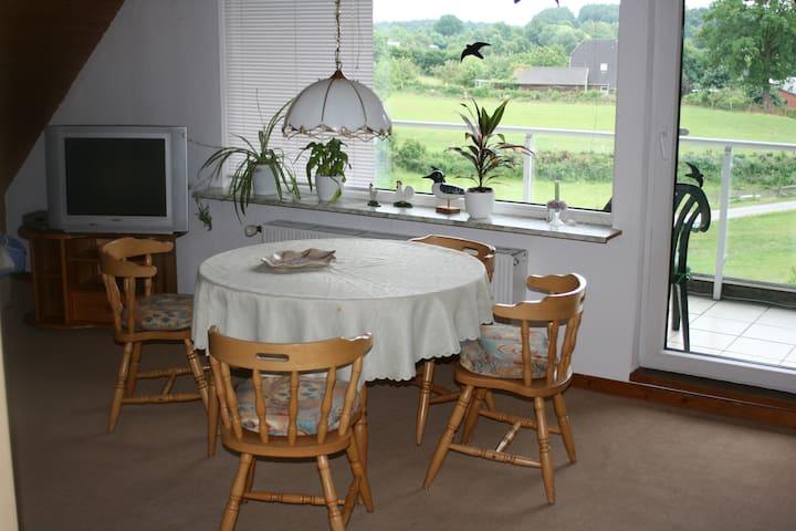 "Apartment ""Landschaftsblick"" - Schönhorst - Haus"