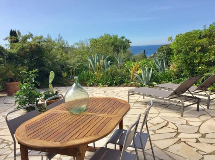 Appartement Calanque - Terrasse -vue mer- Pk