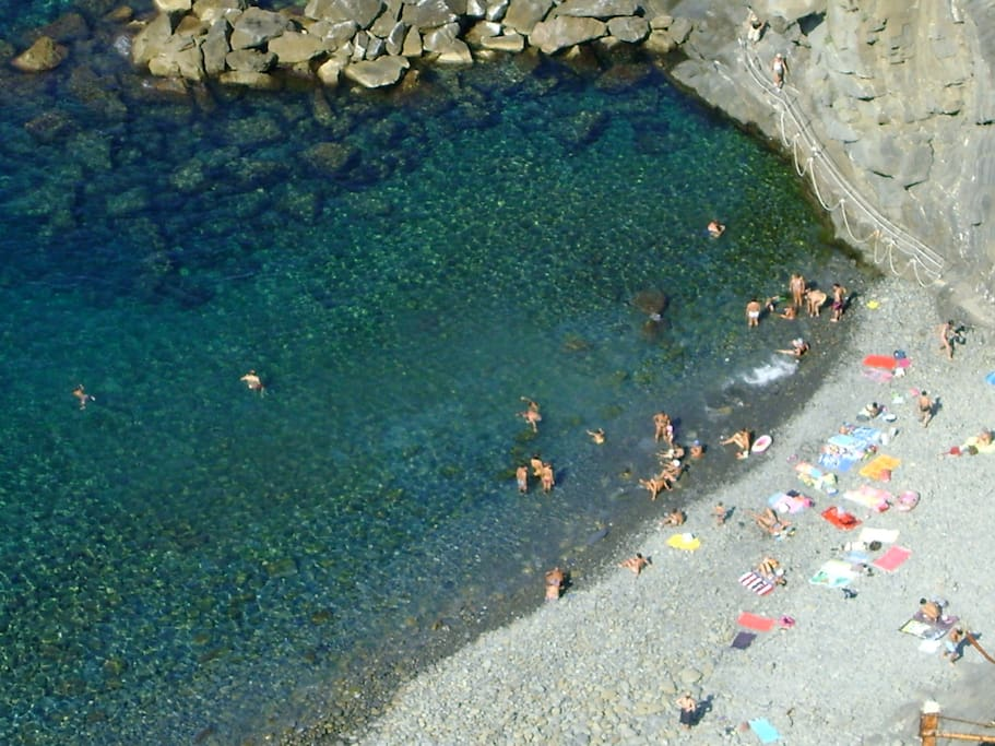 Water we have in the Cinque Terre