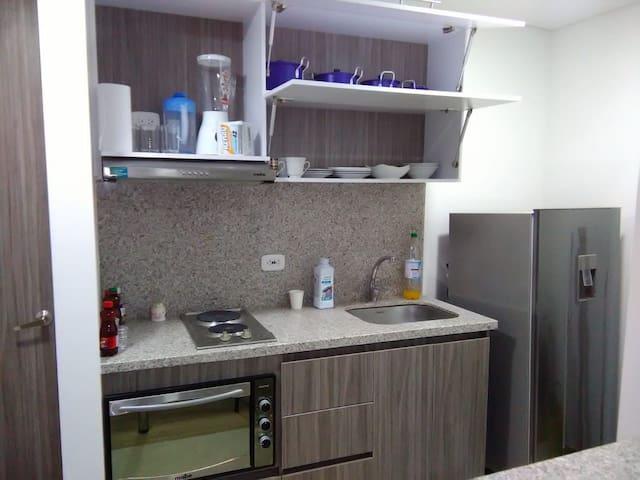 Apartaestudio Nuevo - La Candelaria Centro Bogota