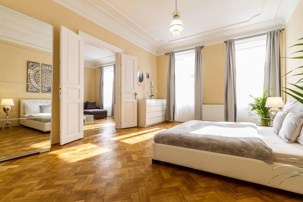Luxury new apartment prague castle guest suites for for Designer apartment prague