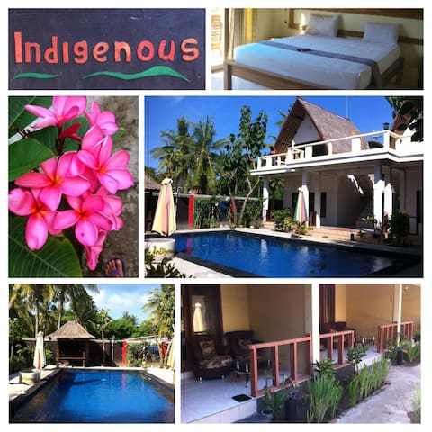 Indigenous Gili - Double room with AC