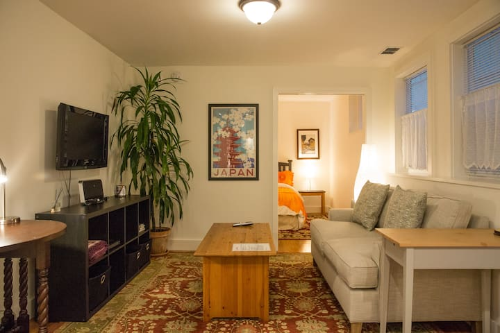 Cozy Apartment near Parks and Mission
