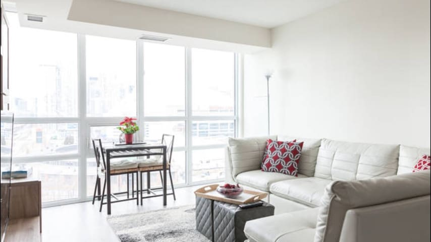 2 bedroom Core Downtown Toronto with CN tower view