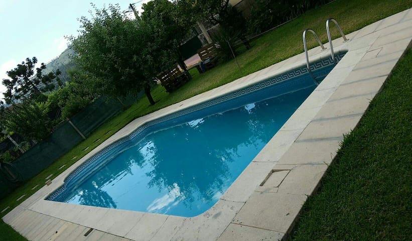 Estudio com churasqueira/piscina - Arcos De Valdevez - 一軒家