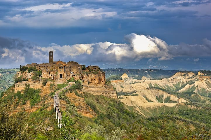 Sleep with the view of Civita di Bagnoregio - Lubriano - Lägenhet