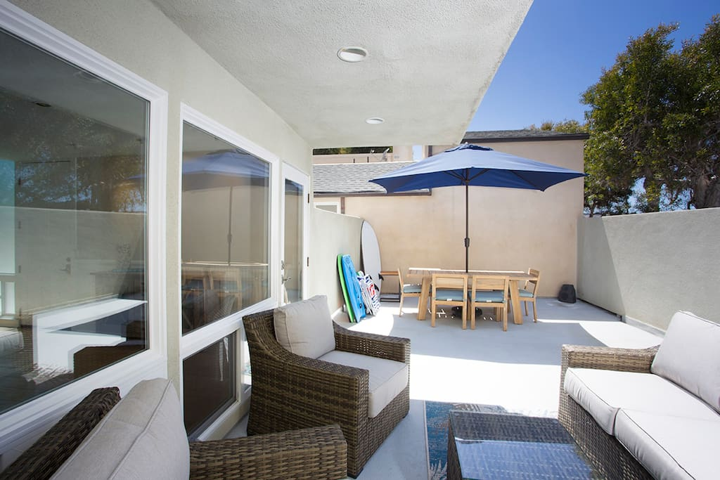 Patio area - not shared