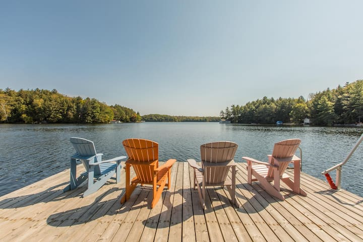 Blue My Mind - Fabulous swimming and privacy plus on Horseshoe Lake