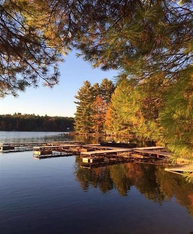 Fall Getaway in Tall Pine Cottage in the Kawarthas