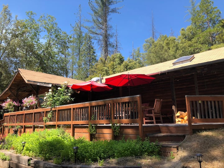 Summit Lodge/Peace room/Yosemite/walk to Bass lake