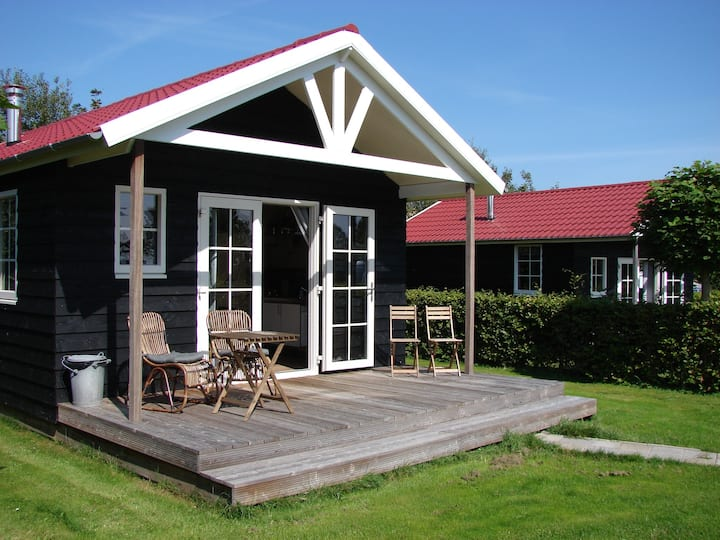 logeren in een unieke lodge 2 in Friesland