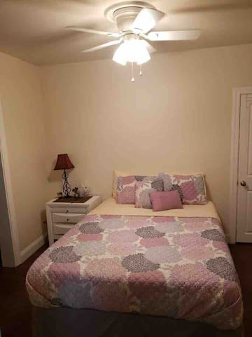 Bedroom 1 ~ Queen bed