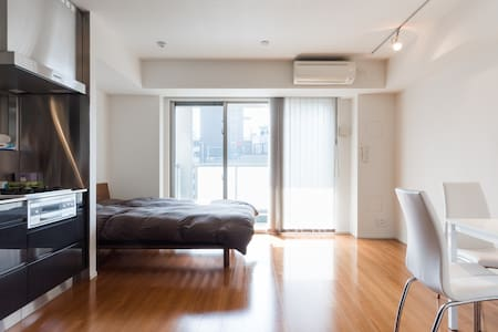 Azabujuban Luxury Studio w/ Balcony - Minato-ku - Apartemen
