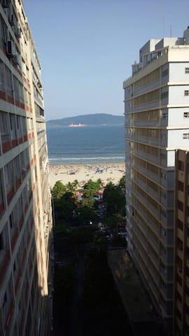 Apartamento em frente à praia ! - São Vicente - Apartment