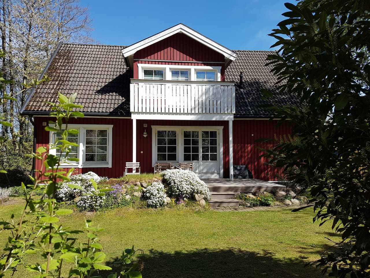 Entspannung am Stadtrand - gemütliches Schwedenhaus