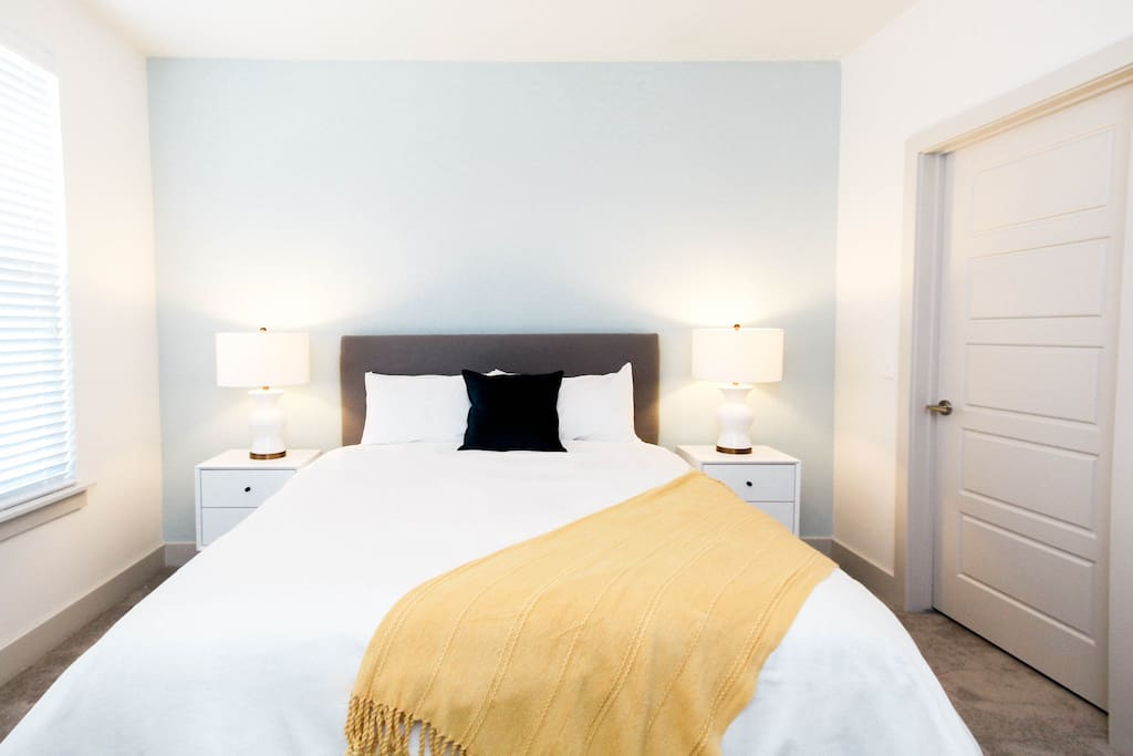 The beautiful interiors and large beds enable you