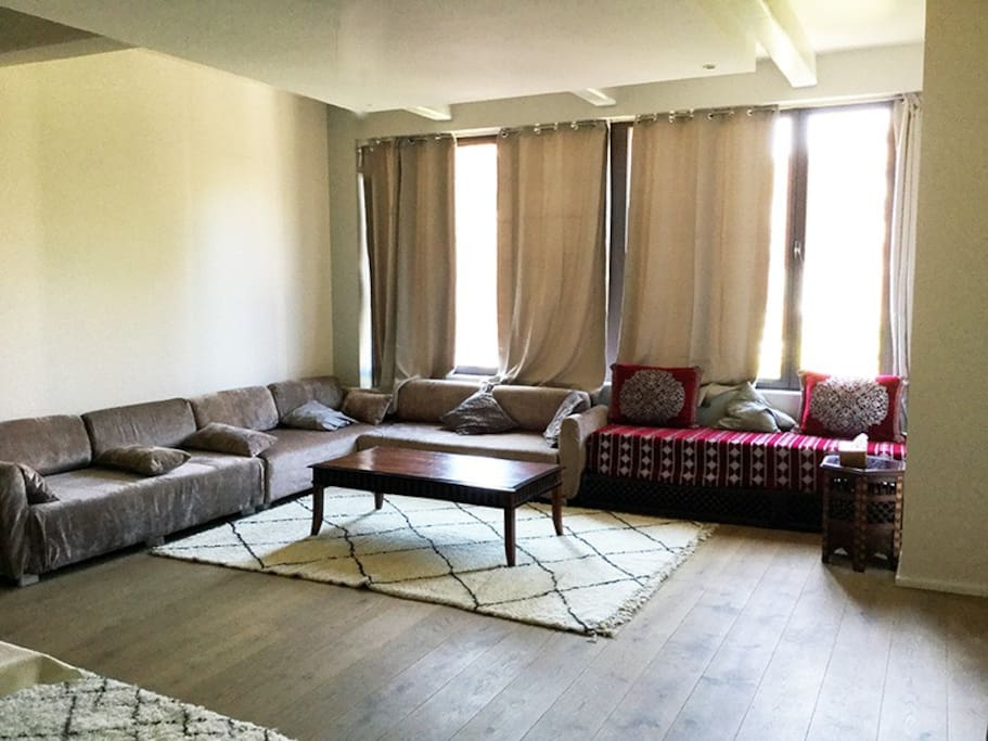 The living room / Le salon