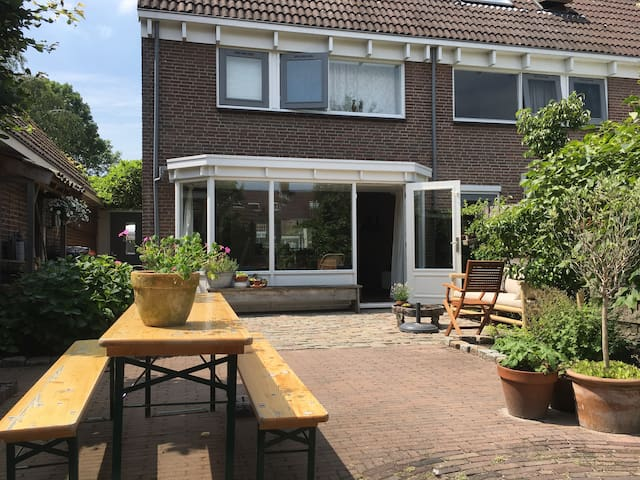 Family house in typical Dutch area meat Amsterdam