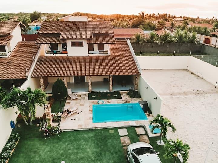 Bela Casa na Praia de  Águas Belas
