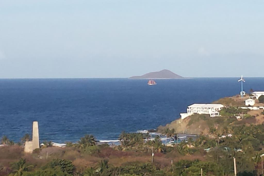 View of Buck Island