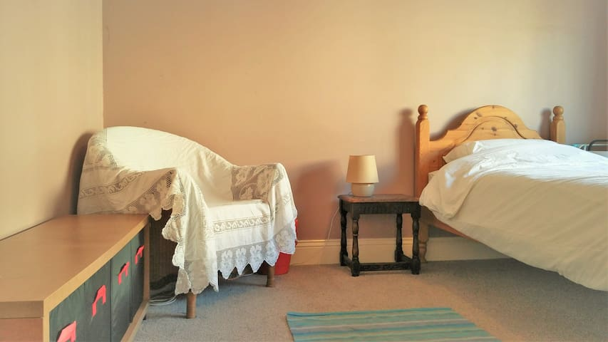 Bright room, spacious house, near city & country - Sheffield - Huis