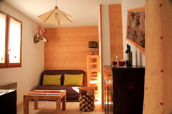 Les Moulins de la Guisane, appartement plein sud - La Salle-les-Alpes - Wohnung