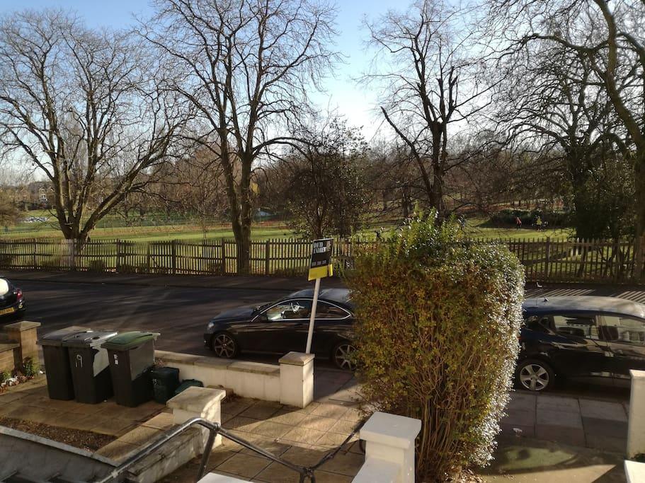 Finsbury Park - infront of Bldg