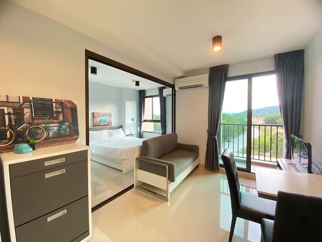 Room for rent close to Central Phuket