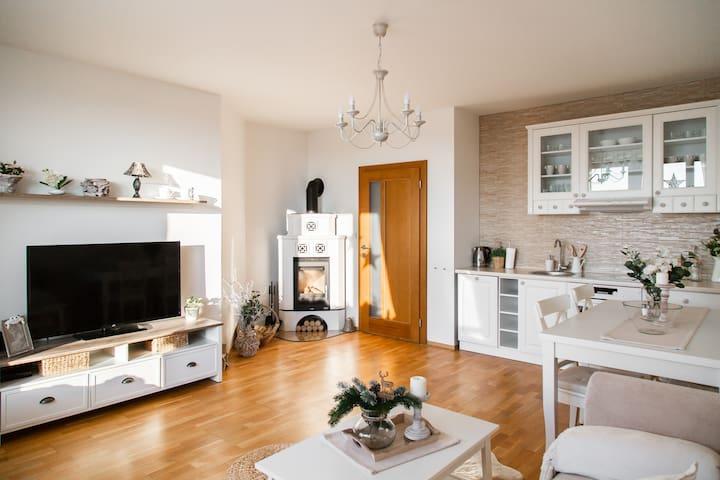 Cozy apartment NINA with majestic High Tatras view