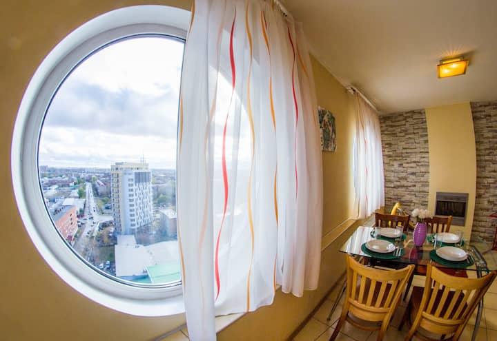 2-комнатные апартаменты на Декабристов 116
