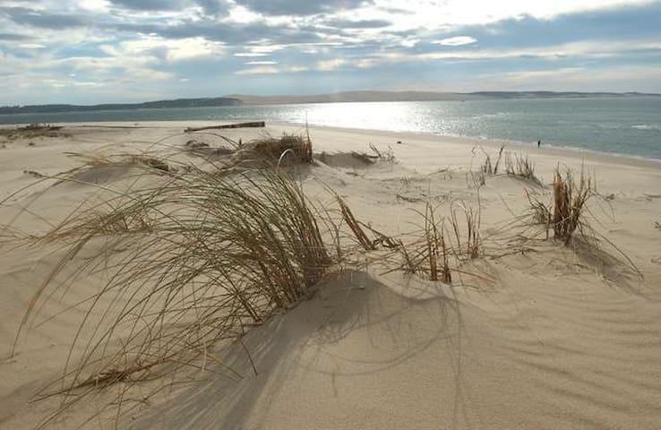 La plage à 5 minutes à pieds ... @@ Modifiée @@ - Saint-Hilaire-de-Riez - อพาร์ทเมนท์