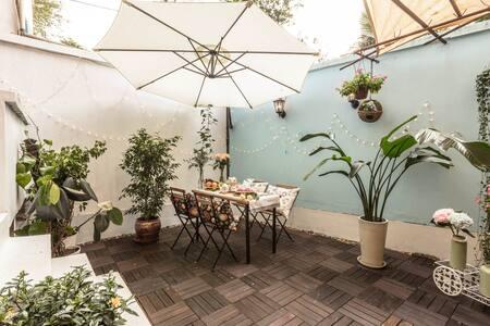 Garden House@ZhongShanPark 复古花园公寓@中山公园 步行5分钟直达地铁 - Shanghai - Lejlighed
