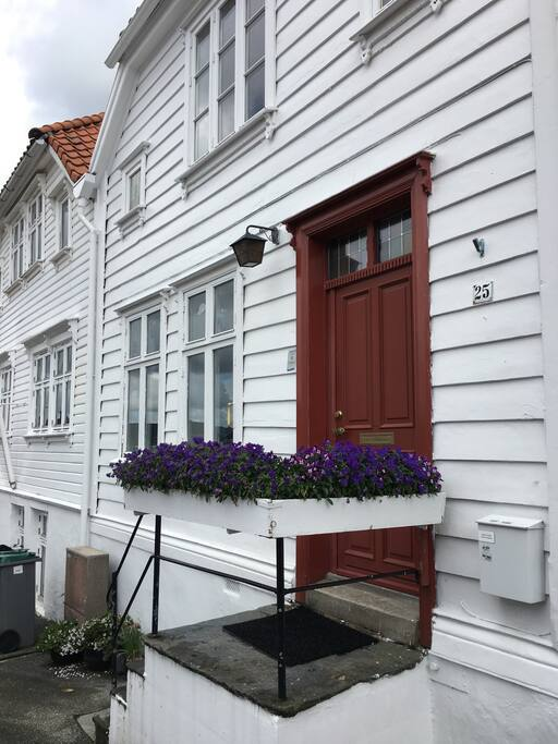 A typical Bergen house from 1880.