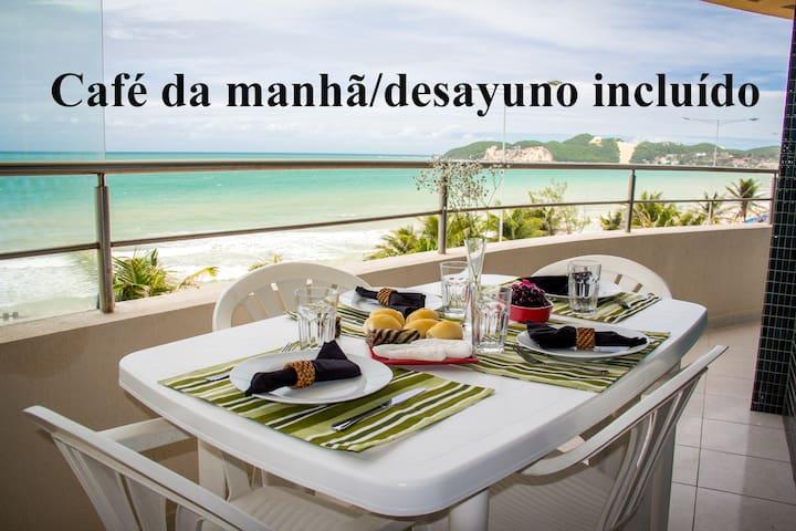 Panoramic view and breakfast