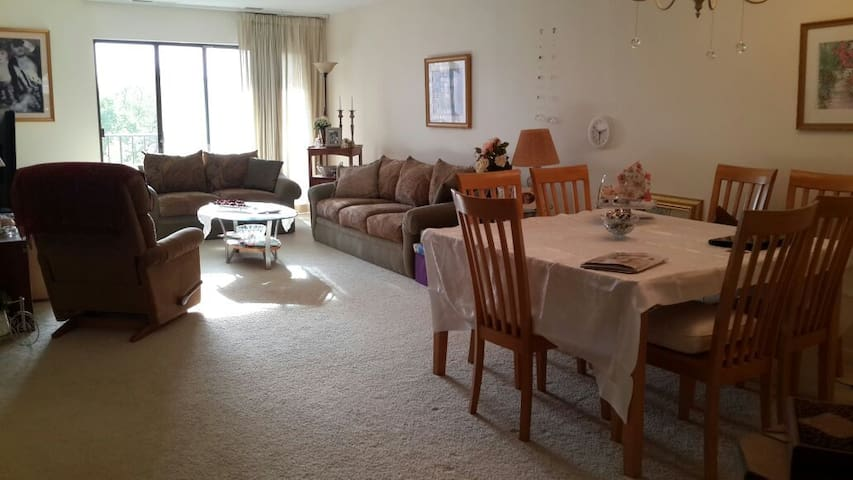 Spacious 1bd apartment, all for you to enjoy. - Northbrook - Apartment