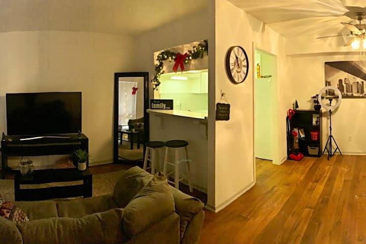 Cozy Uptown Master suite