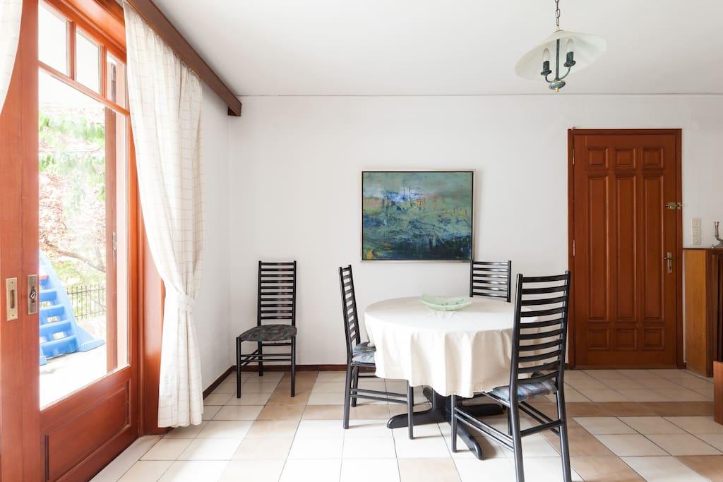 Living & Dining room.