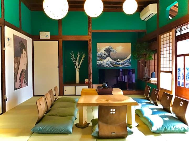 离别府站步行2分钟! 可享受日式建筑风情的古老民宅☆最多可容纳6人/免费WIFI