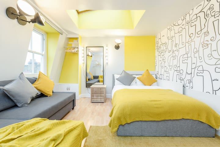 Amazing Stylish Studio Flat in the heart of Brick Lane - One minute from the Truman Brewery