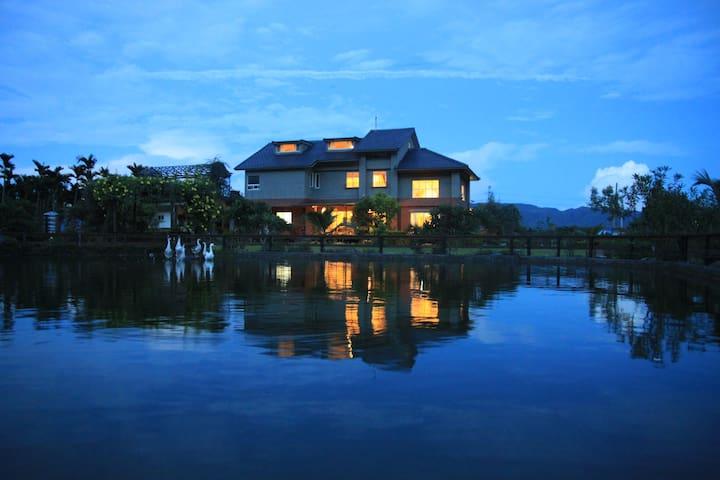 獨棟雙人小Villa【花蓮壽豐倆呆休閒度假別墅】 - Shoufeng Township - House