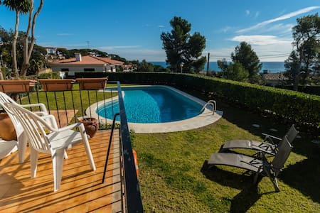 Sea views and quiet apartment in Calella - Palafrugell - Apartament