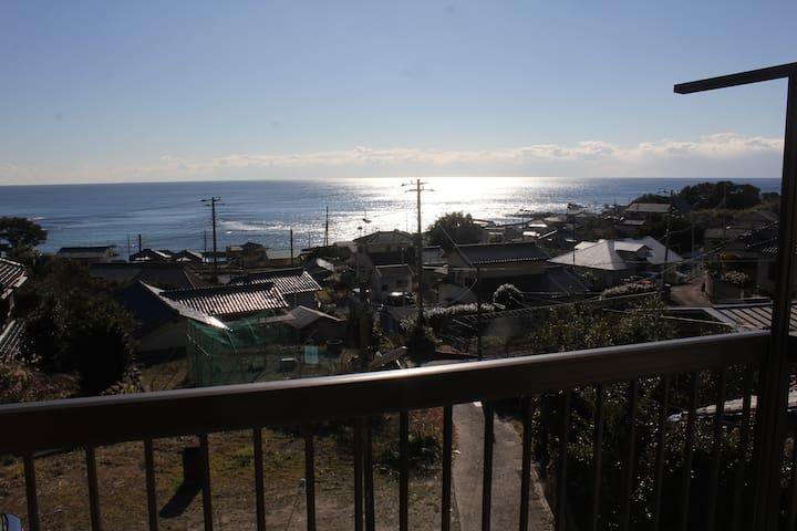 oceanview only! 南房総の海をひとりじめ!全ての部屋から海が見えます。