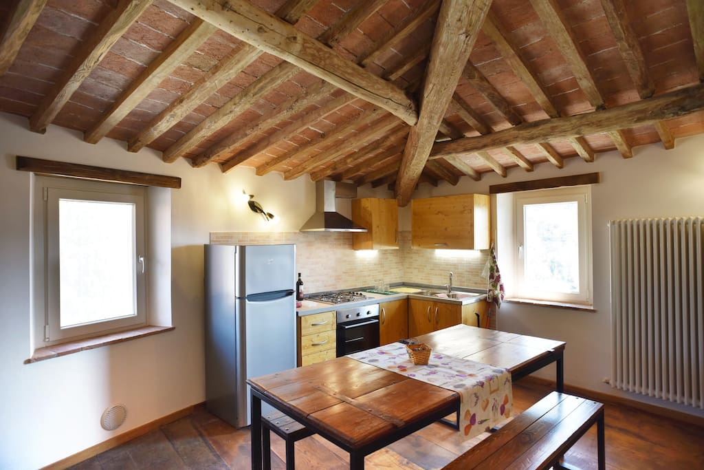 Flat Rothko | living room & kitchen