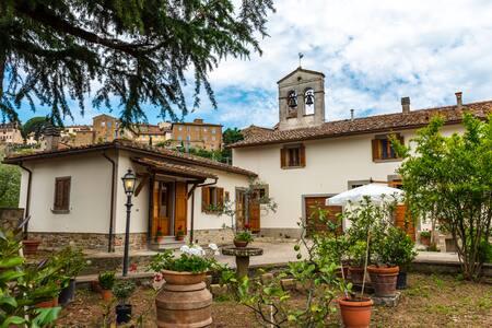 """""""Borgo Sant'Andrea al Pozzo""""  in Ancient Abbey"""