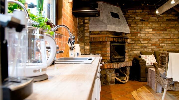 Kosanna - uroczy domek w zaciszu łąk i lasów
