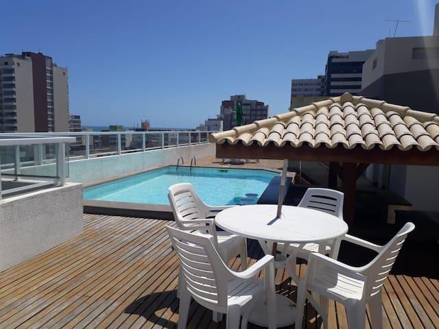 Apartamento inteiro Pituba com vista para o mar