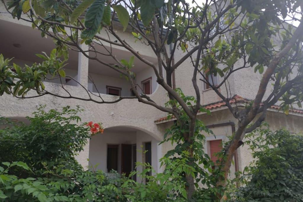 Esterno Villa Oleandro
