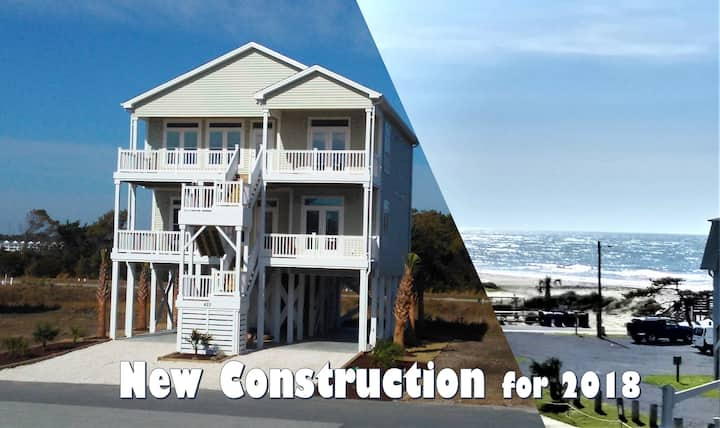 New Gorgeous Ocean View Home - Built in 2018