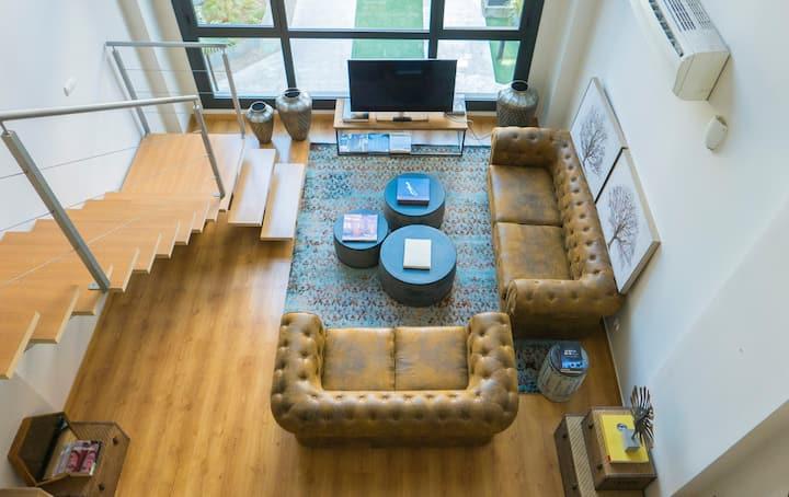 Luxury loft in Madrid Northside